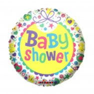 Globo Decorativo Baby Shower colores pasteles